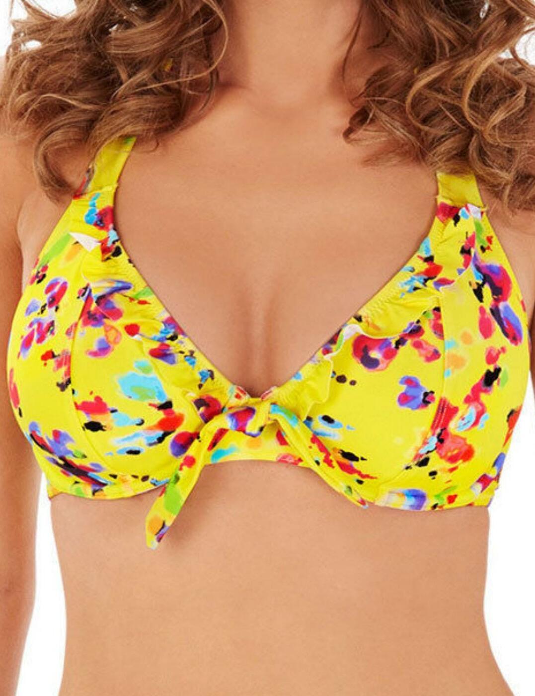 Lepel Flower Power Underwired Halter Bikini Top 1680620 New Womens Swimwear