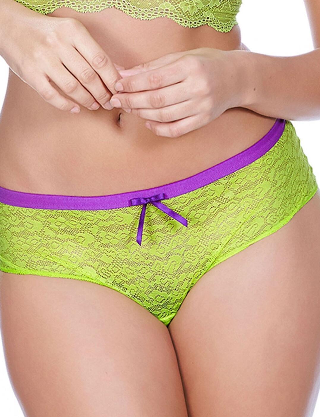 1015 Freya Fancies Hipster Short  - 1015 Lime Green