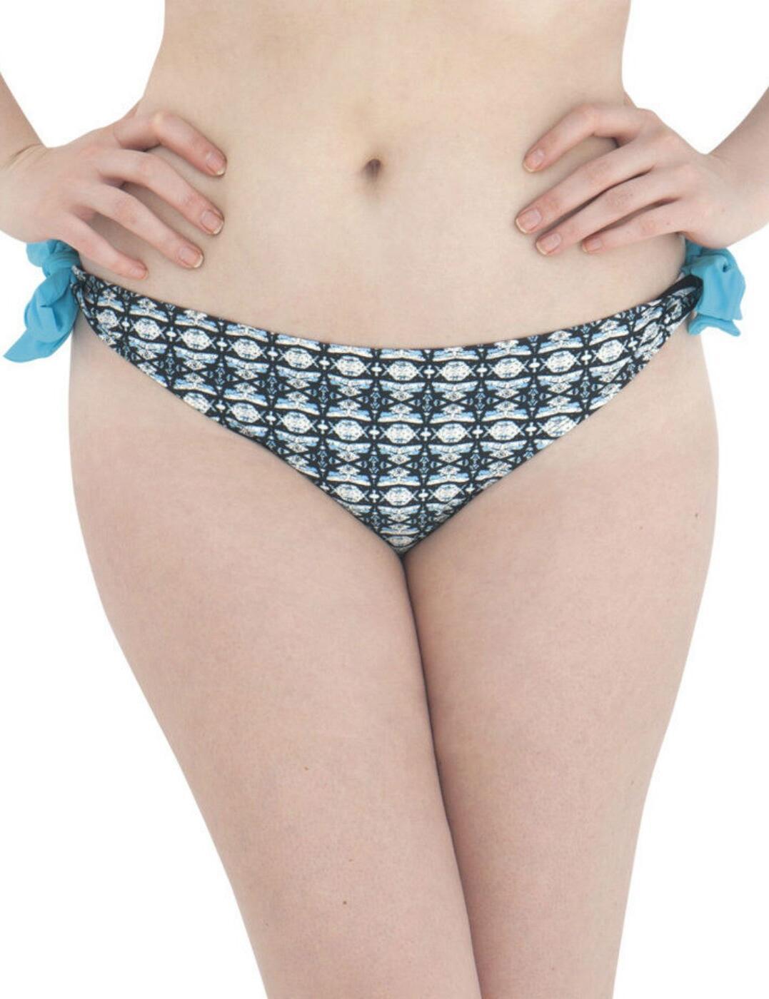 2315 Curvy Kate Cocoloco Tie Bikini Brief - 2315 Blue