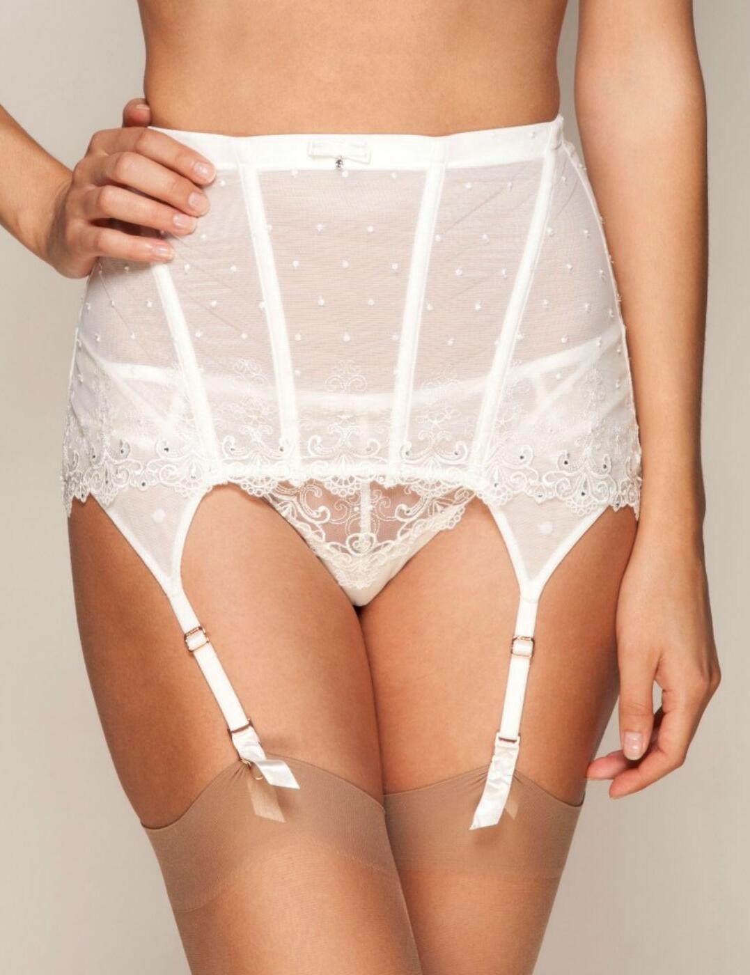 62f142ee9 Gossard Femme Fatale Bridal Waspie Suspender - Belle Lingerie