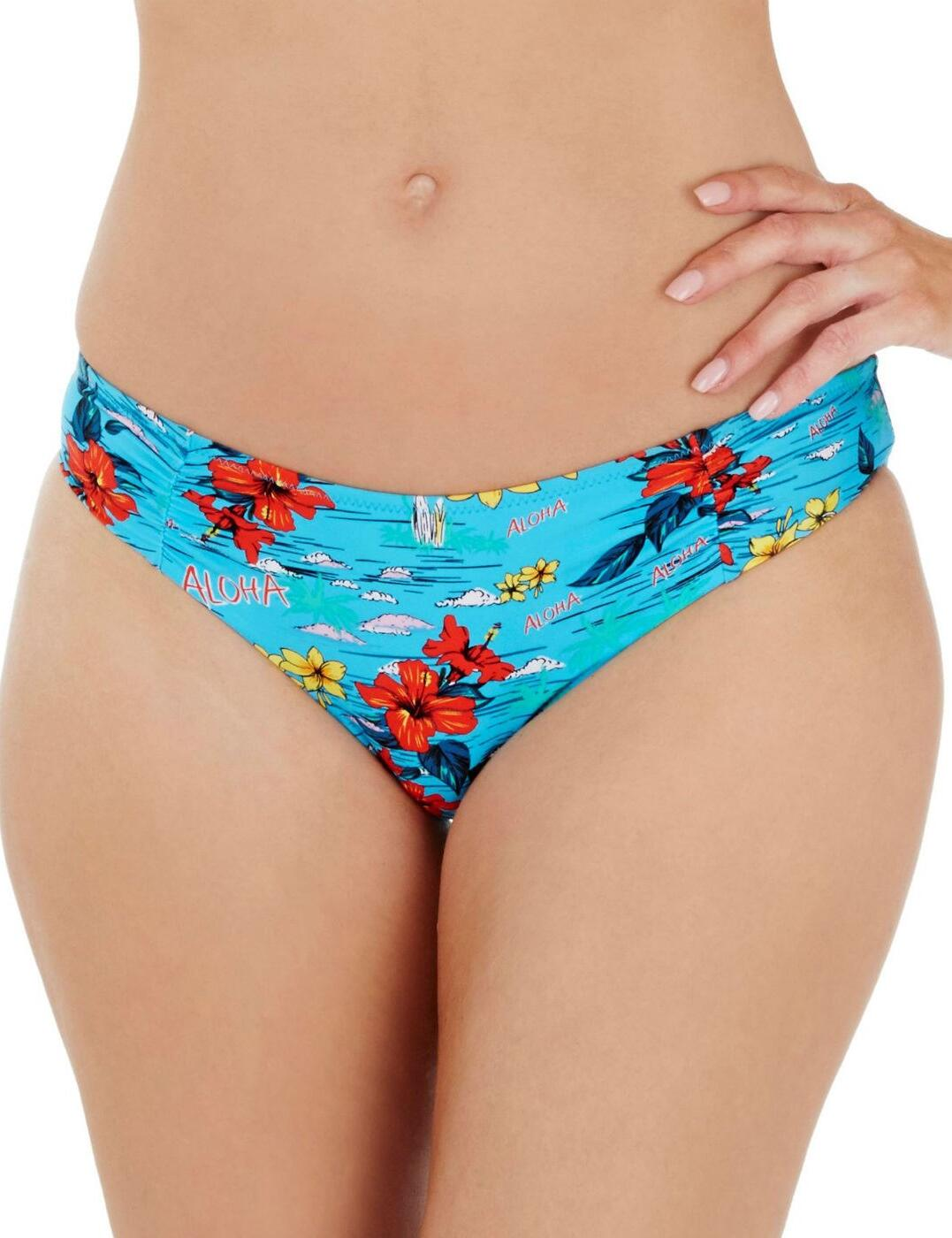 1679790 Lepel Aloha Low Rise Bikini Pant Blue Multi - 1679790 Bikini Brief