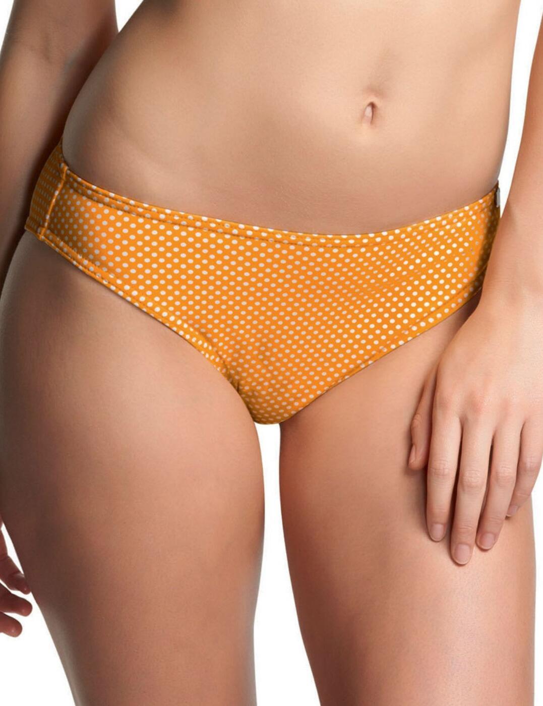 3584 Freya Sunset Boulevard Classic Bikini Brief - 3584 Yellow Polka Dot