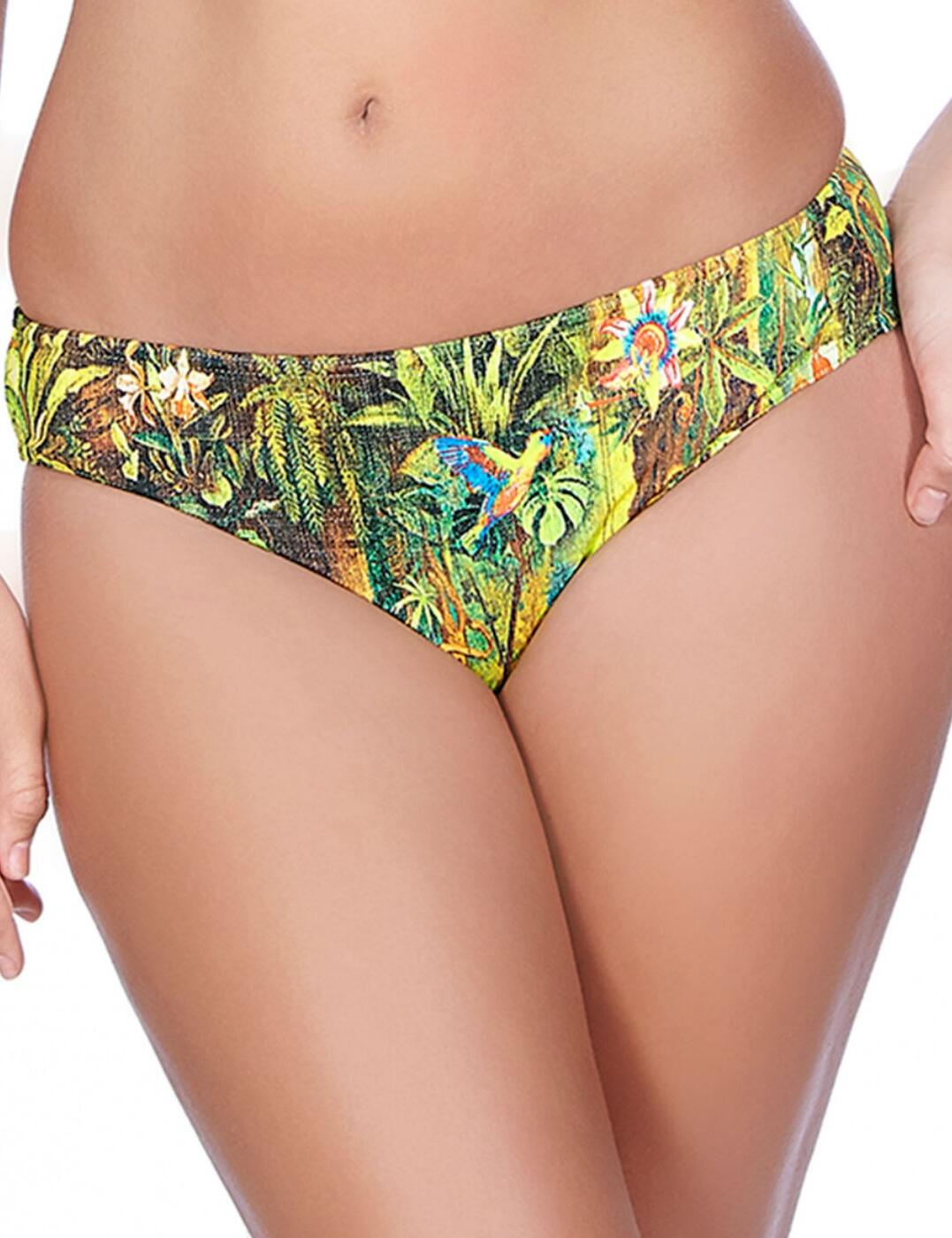 3854 Freya Wilderness Hipster Bikini Brief Tropical - 3854 Hipster Brief