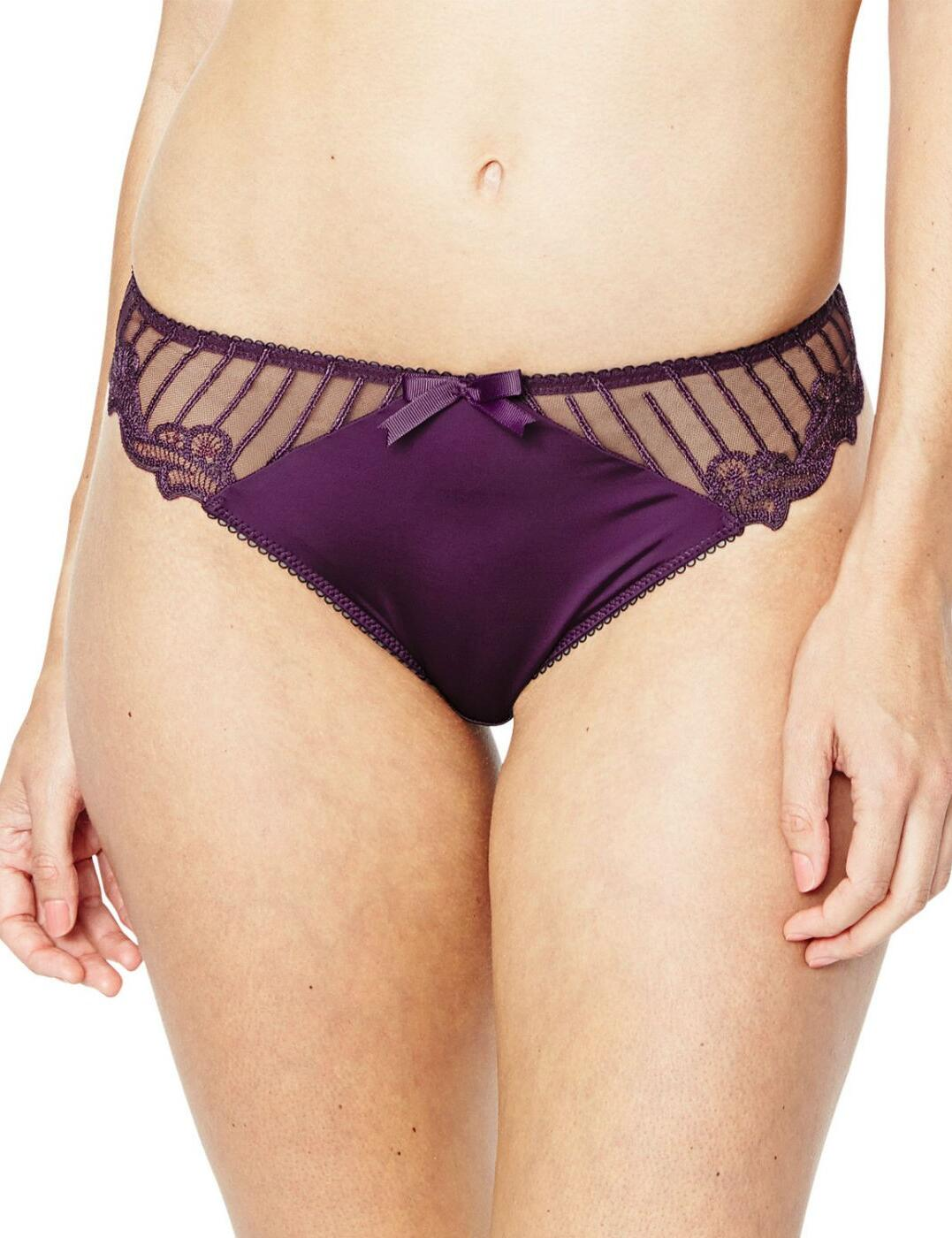 1295100 Charnos Sienna Brief Purple   - 1295100 Brief