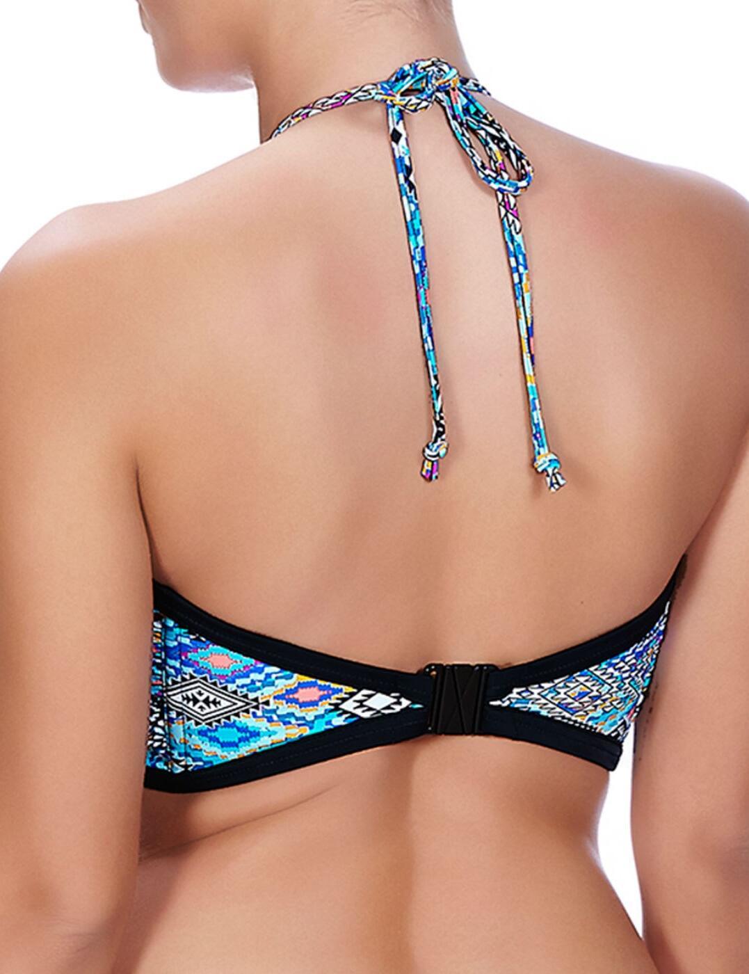 Freya Swimwear Folklore Bandeau Bikini Top Multi 3811