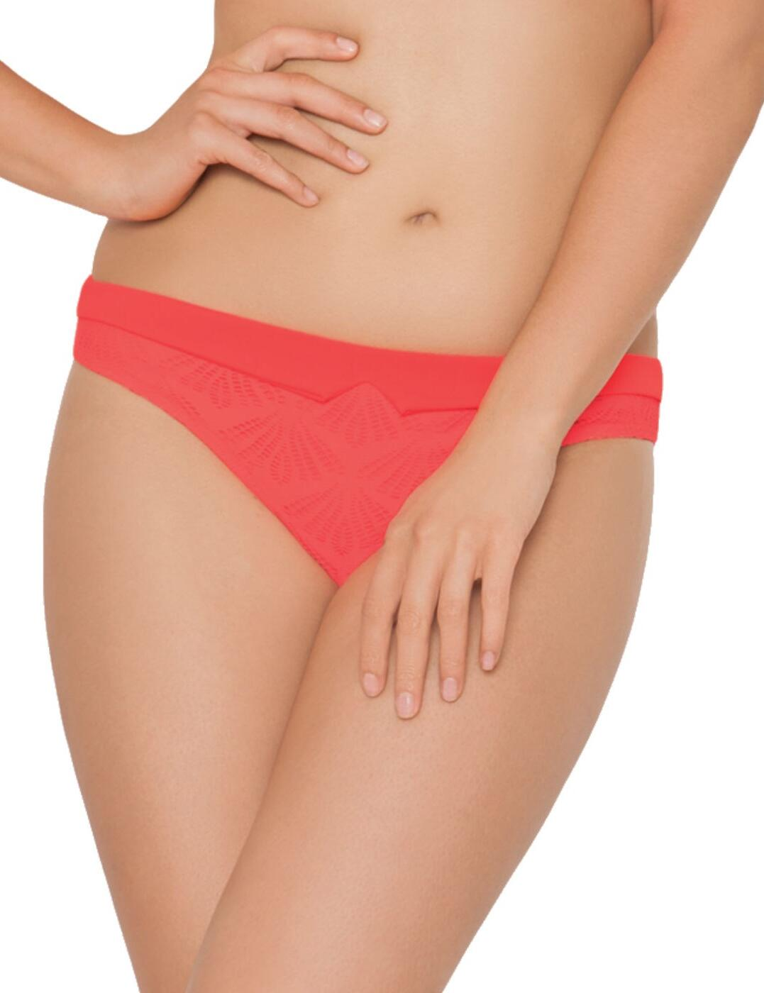 CS3345 Curvy Kate Siren Mini Bikini Brief - CS3345 Coral