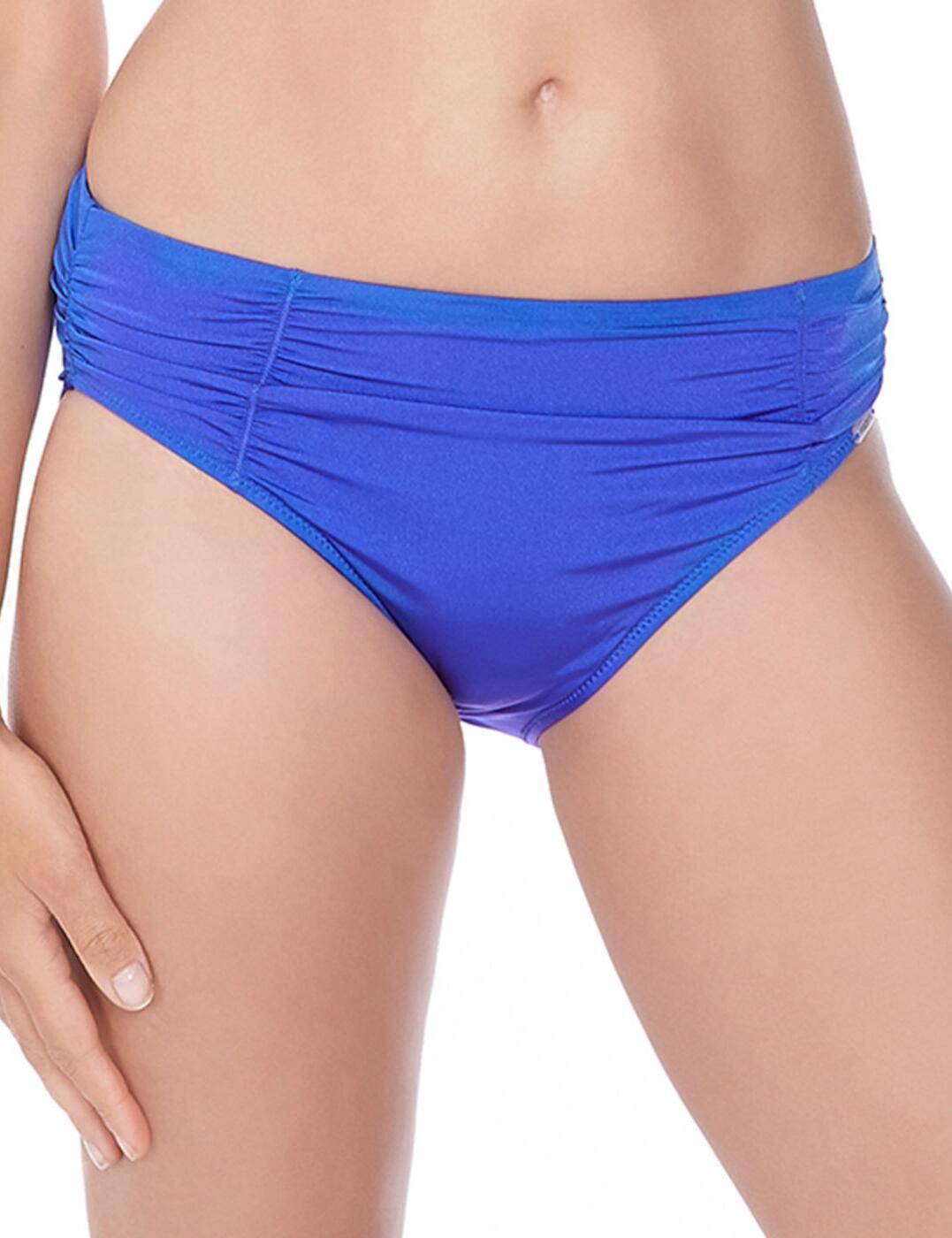 6155 Fantasie Los Cabos Gathered Bikini Brief - 6155 Cobalt
