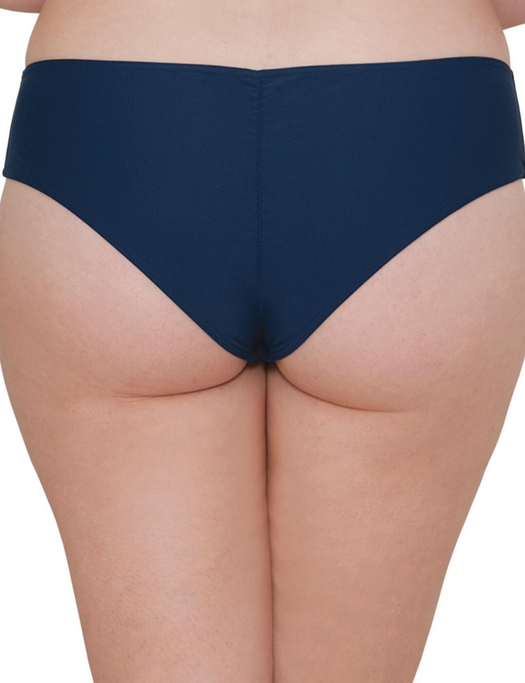 CS4063 Curvy Kate Set Sail Bikini Short  - CS4063 Indigo Mix