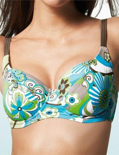 9818 9819 Freya Disco Lemonade Bikini Top SAVE 70% - Balcony top 9818