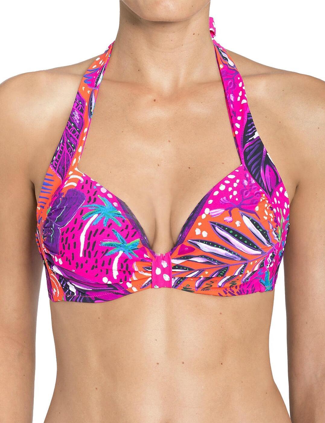 Triumph Painted Tulum (MWP) Magic Wire Padded Bikini Top - Belle ... 0244d355e0