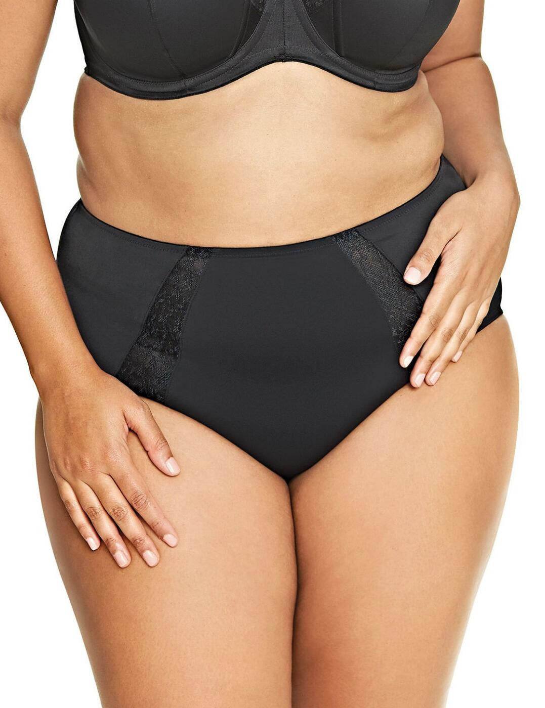 6665 Goddess Adelaide Brief - 6665 Black