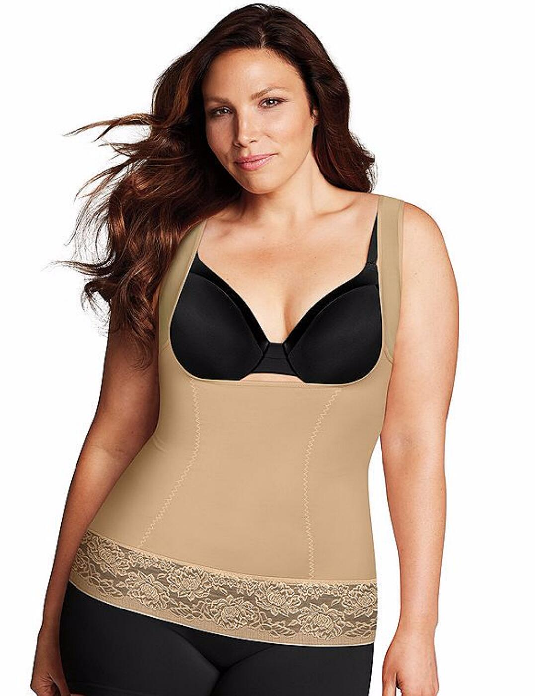 1026 Maidenform Firm Foundations Curvy Shaping Torsette - 1026 Body Beige