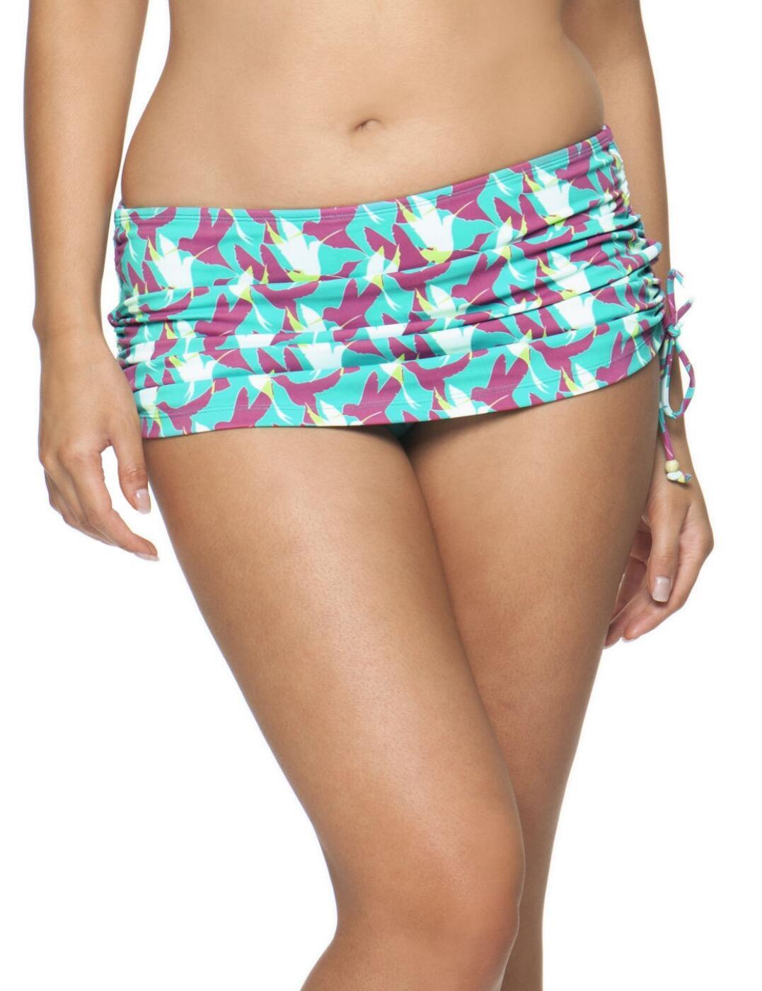 1455 Curvy Kate Birds of Paradise Swim Skirt - CS1455 Skirted Brief