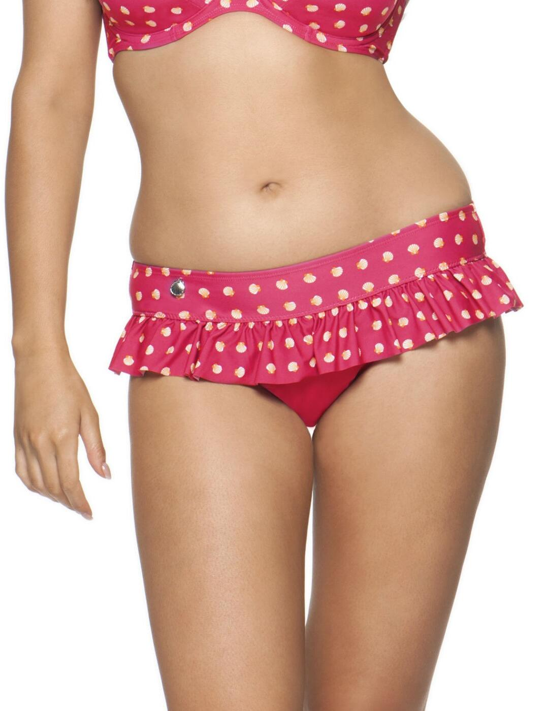 1335 Curvy Kate Seashell Skirted Bikini Brief - 1355 Skirted Brief