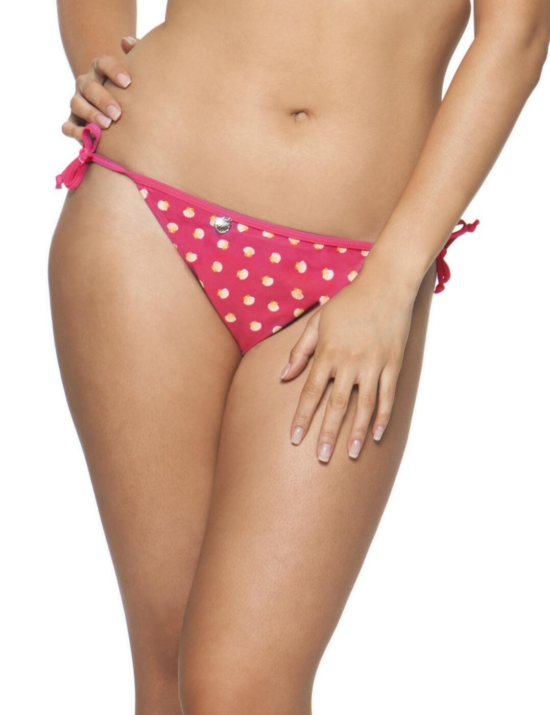1315 Curvy Kate Seashell Tie Bikini Brief - 1315 Sorbet