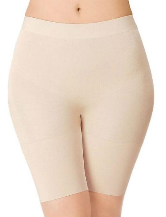 Wacoal Control Freak Pear Long-leg Thigh Shaper in Nude