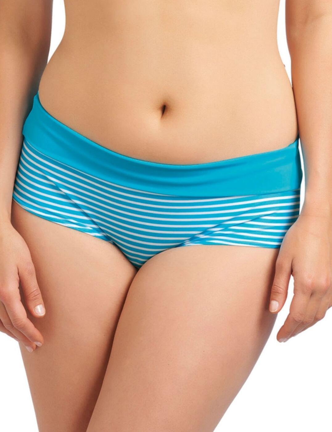 3606 Freya Tootsie Fold Bikini Short - 3606 Azure