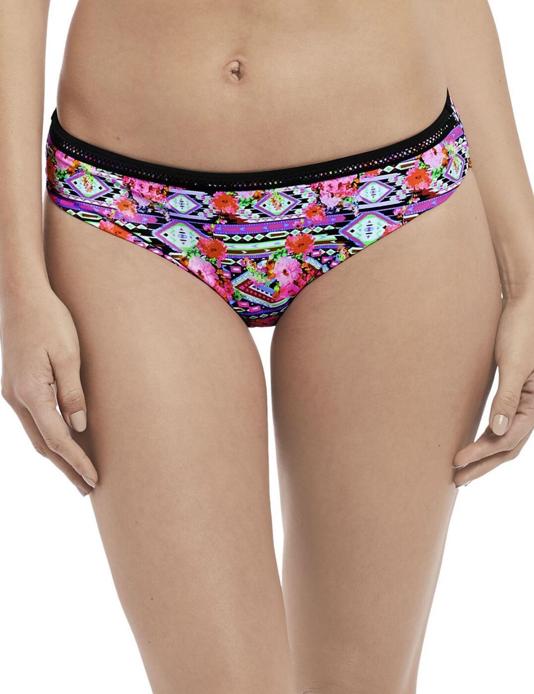 4613 Freya Texas Rose Bikini Brief Rebel Pink - 4613 Bikini Brief