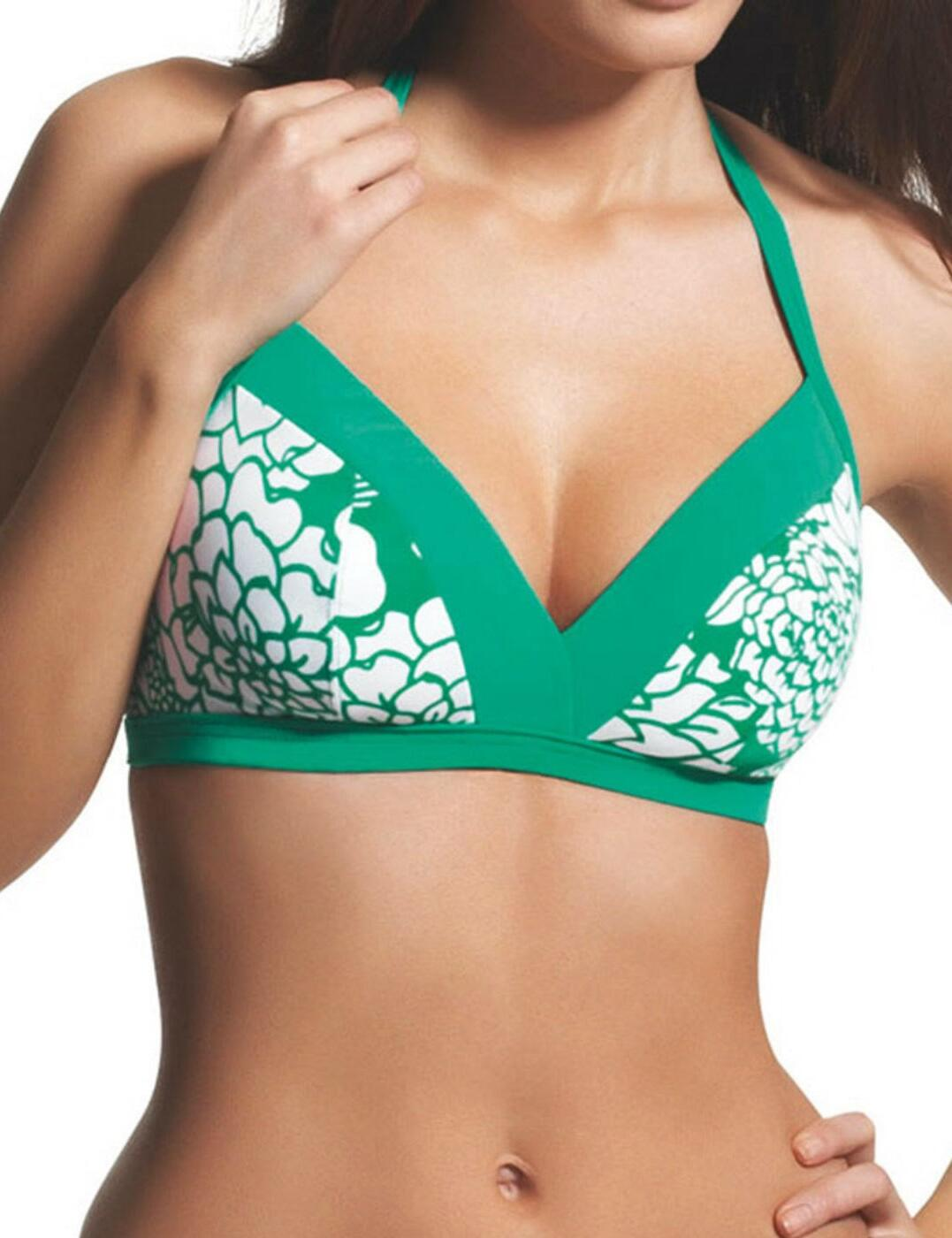 3037 Freya Fortune Soft Triangle Bikini Top Apple - 3037 Sour Apple