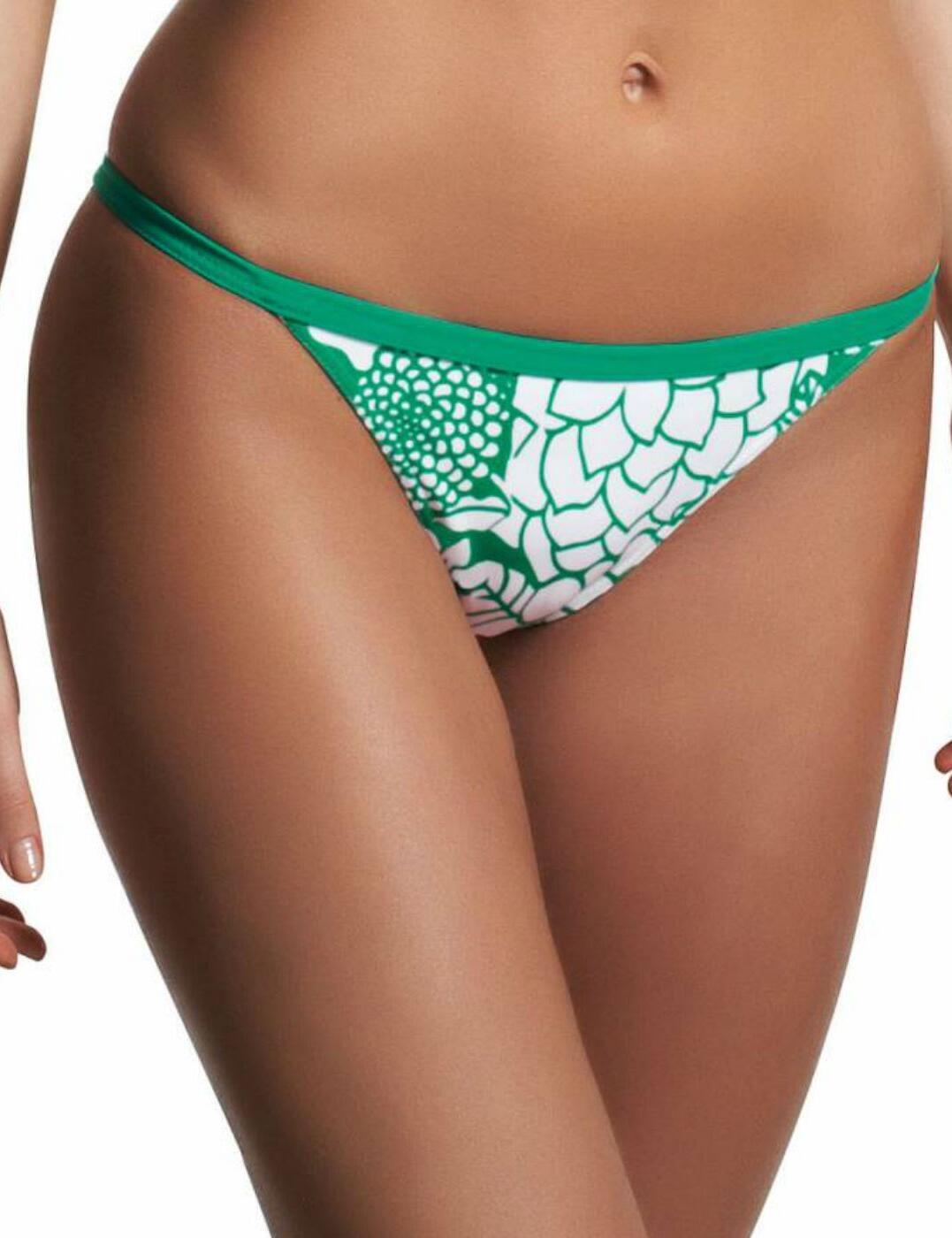 3038 Freya Fortune Tab Side Bikini Brief Apple - 3038 Sour Apple