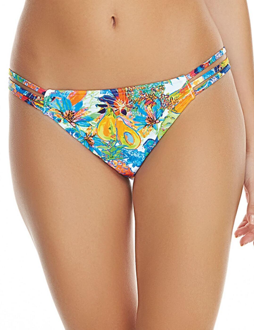 2984 Freya Island Girl Tanga Bikini Brief Tropical - 2984 Bikini Brief