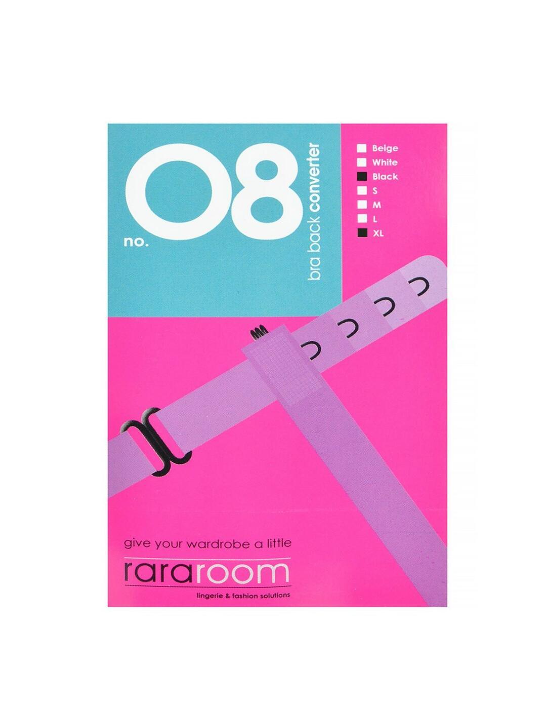 10096508 Rararoom No. 8 Bra Back Converter - 10096508 Black