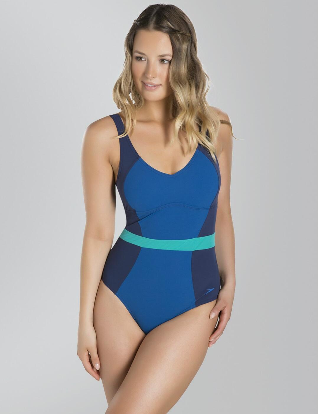 7f27003d19e42 Speedo Sculpture CrystalGleam Swimsuit Swimming Costume 810832B368 ...