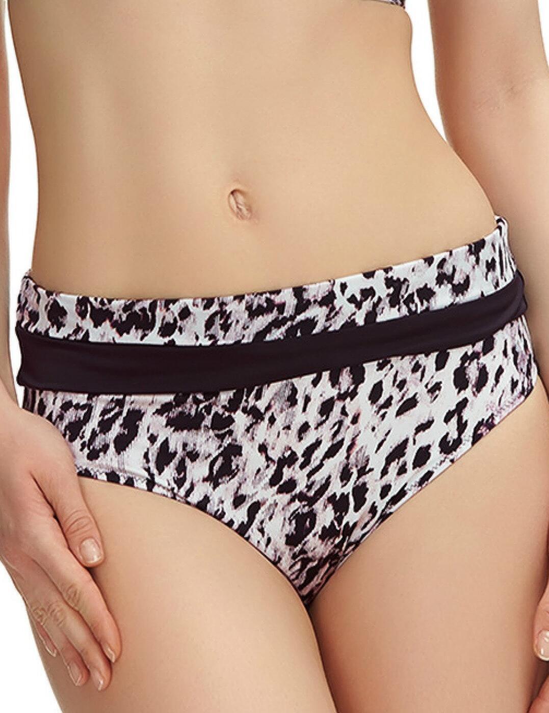 6307 Fantasie Masai Mara Classic Fold Bikini Brief - 6307 Black