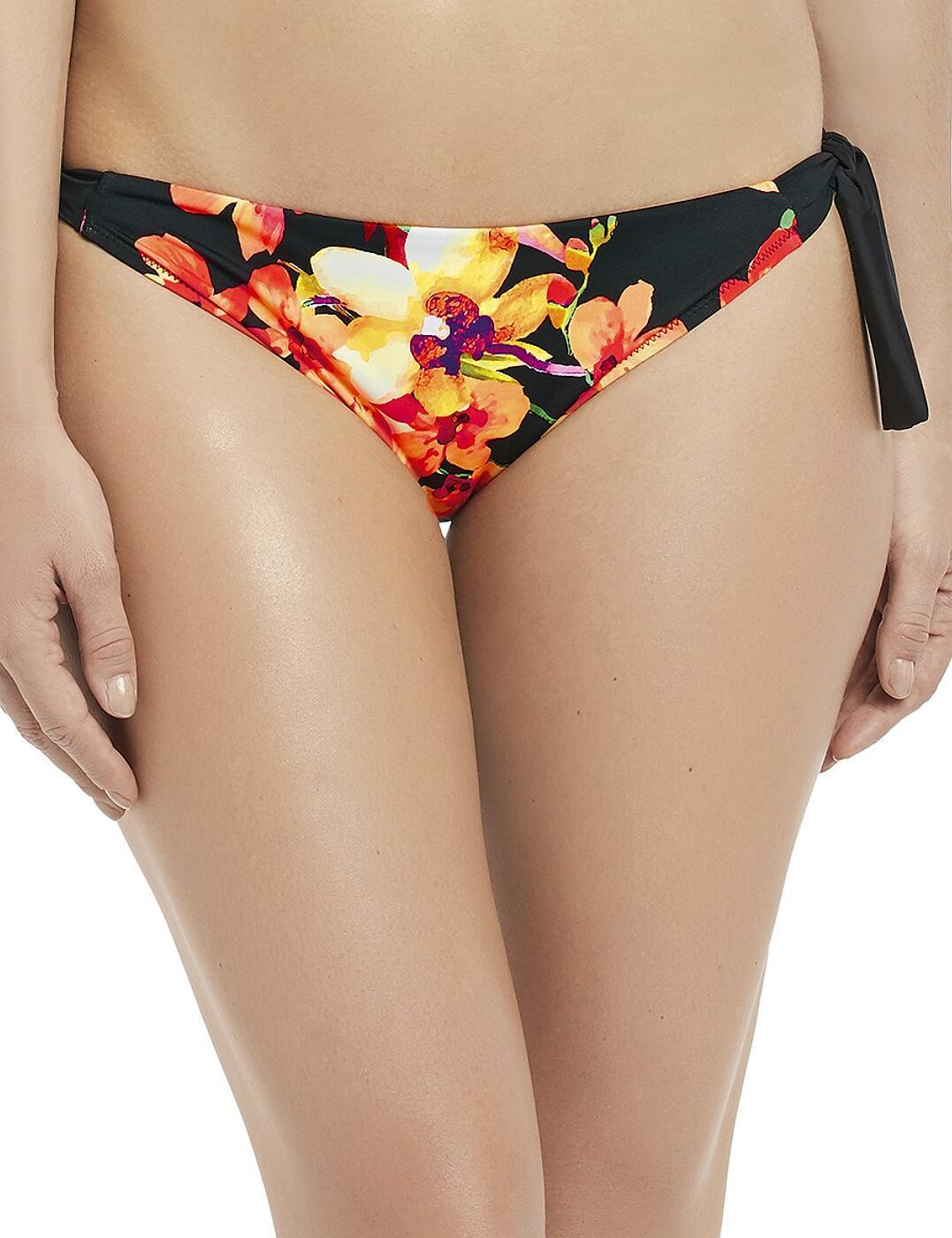 6431 Fantasie Ko Phi Phi Classic Scarf Tie Bikini Brief - 6431 Tropical Print