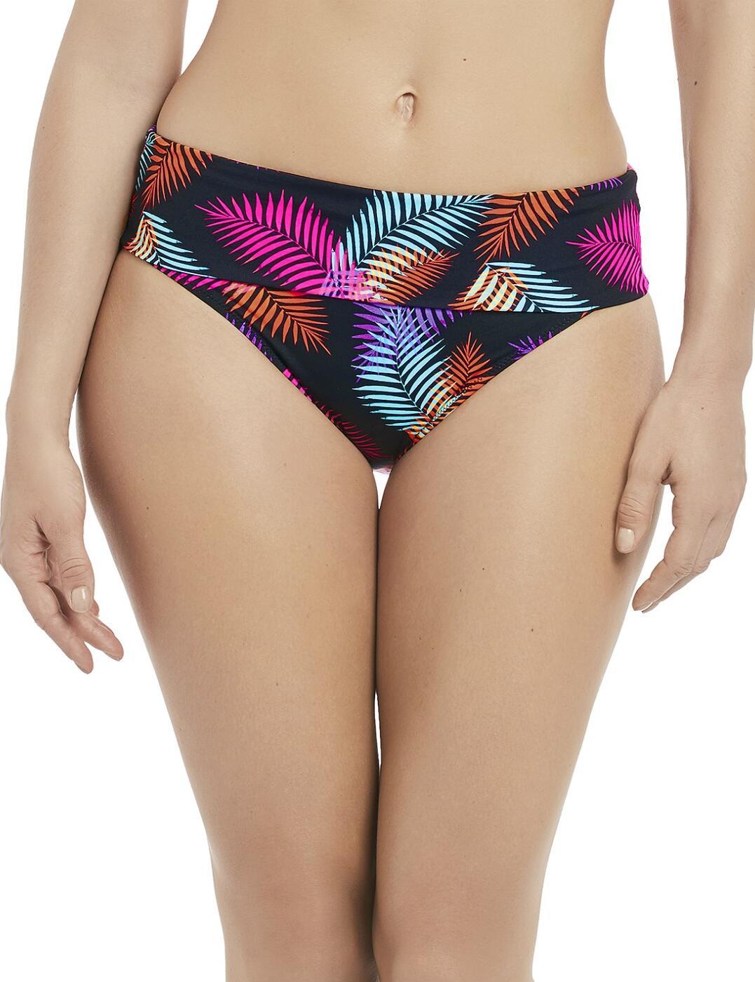 6416 Fantasie Talamanca Classic Fold Over Bikini Brief - 6416 Multi