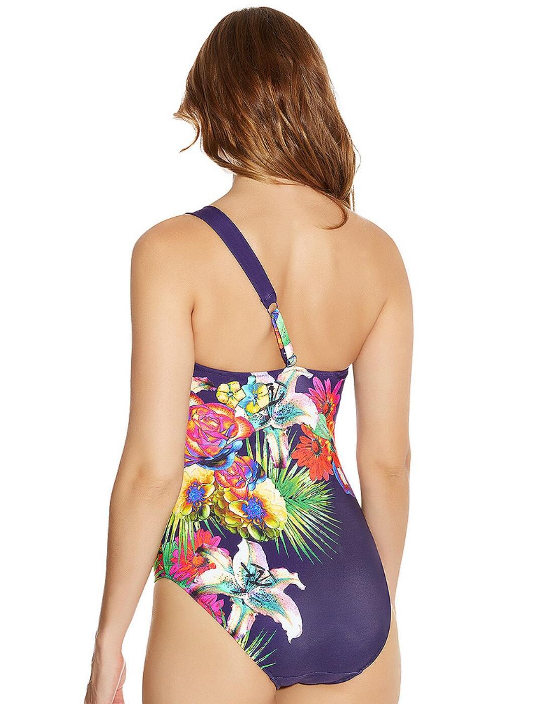 Fantasie Swimwear Cayman Asymmetric Swimsuit//Swimming Costume Multi 5691