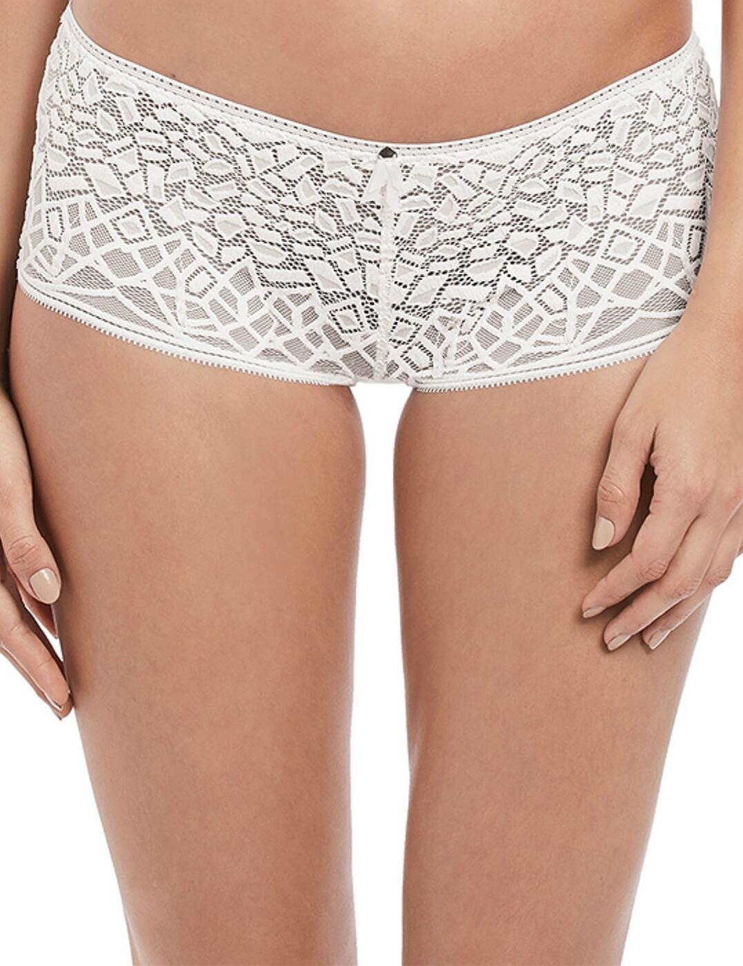5016 Freya Soiree Lace Short - 5016 White