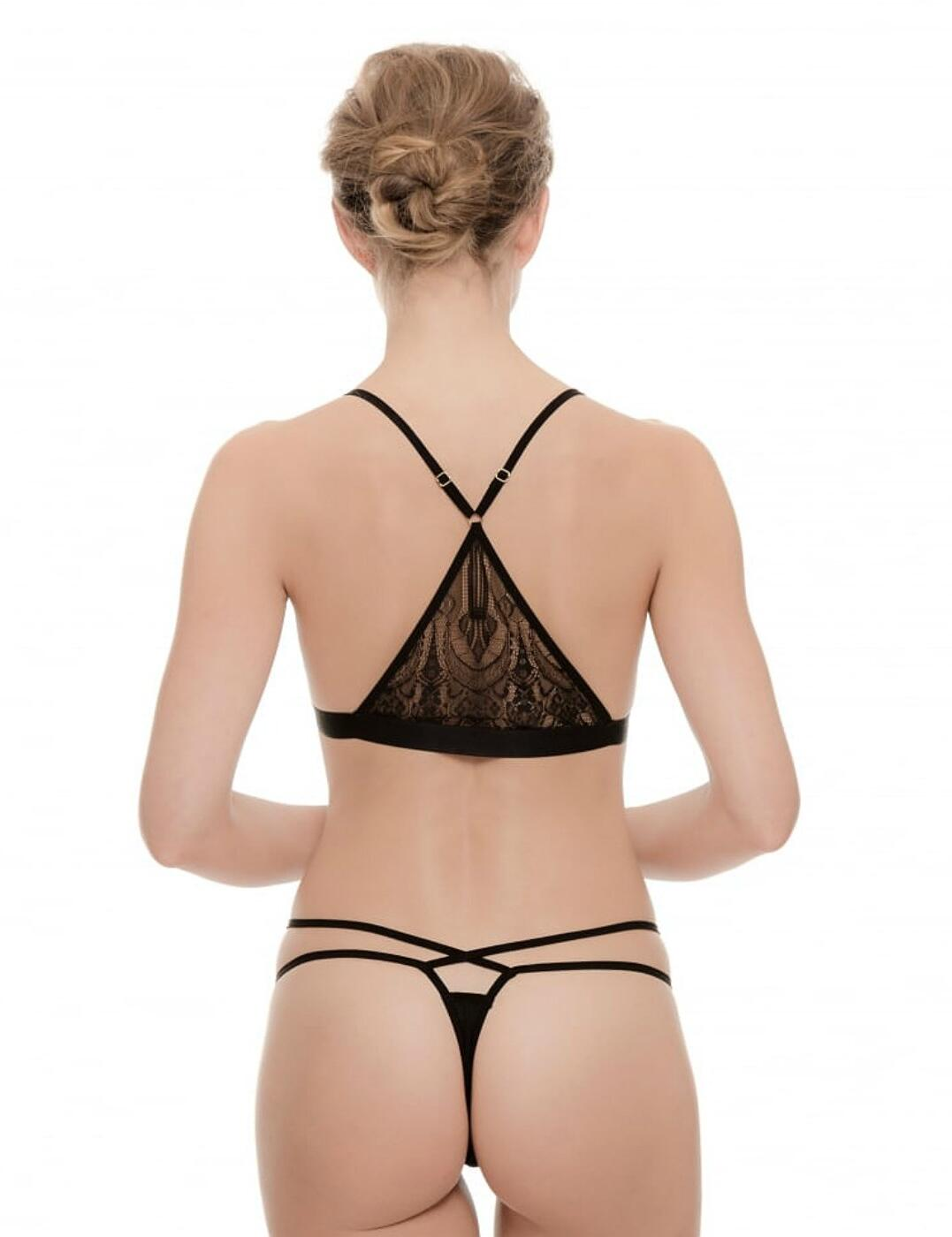 Ultimo Tokyo Nights Suki Bralette And Thong Set - Belle Lingerie 6bf9a3ea4