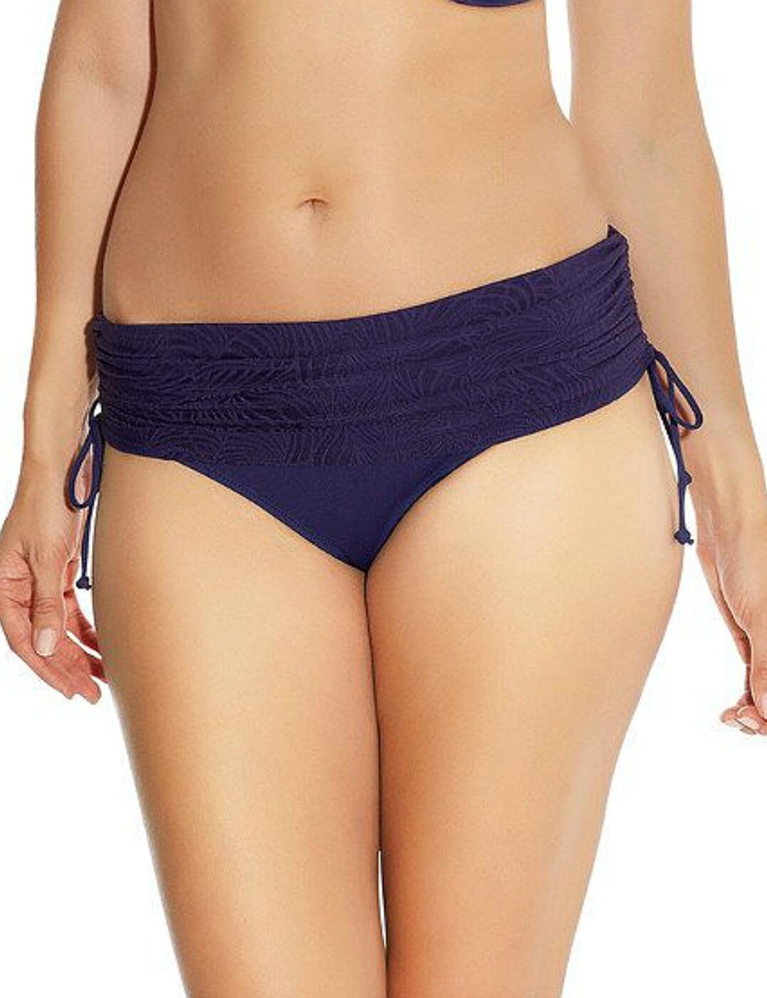5435 Fantasie Montreal Adjustable Fold Bikini Brief - 5435 Indigo