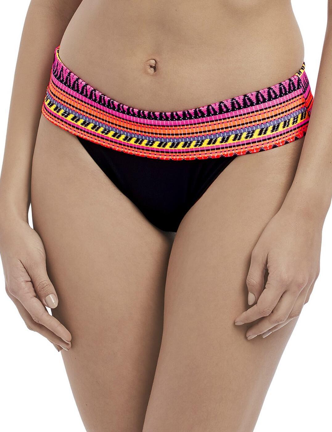 4626 Freya Way Out West Classic Fold Bikini Brief - 4626 Sunset