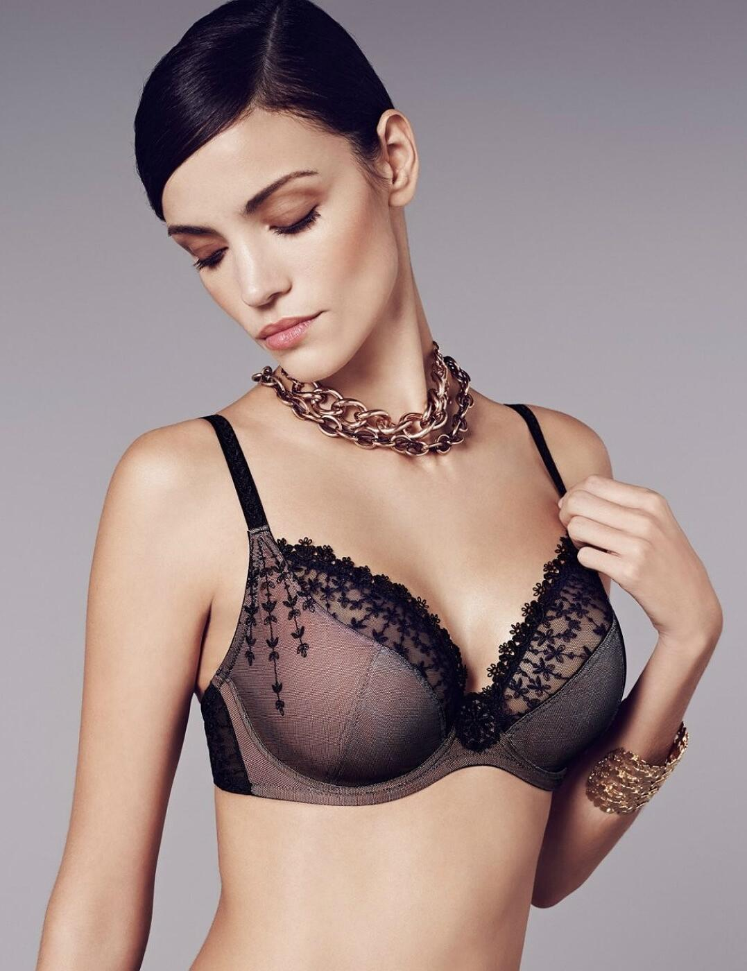0a7a9d99e7 Wacoal Emotion Underwired Non-Padded Plunge Bra - Belle Lingerie