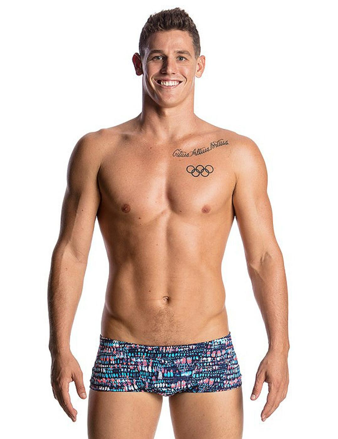 FT30M01746 Funky Trunks Men's Classic Swim Trunks - FT30M01746 Lotsa Dots