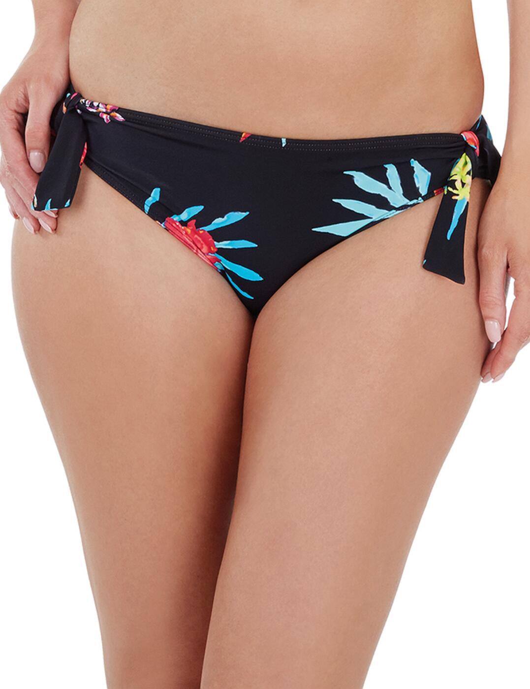 1721700 Lepel Tropics Low Rise Bikini Brief - 1721700 Black/Print