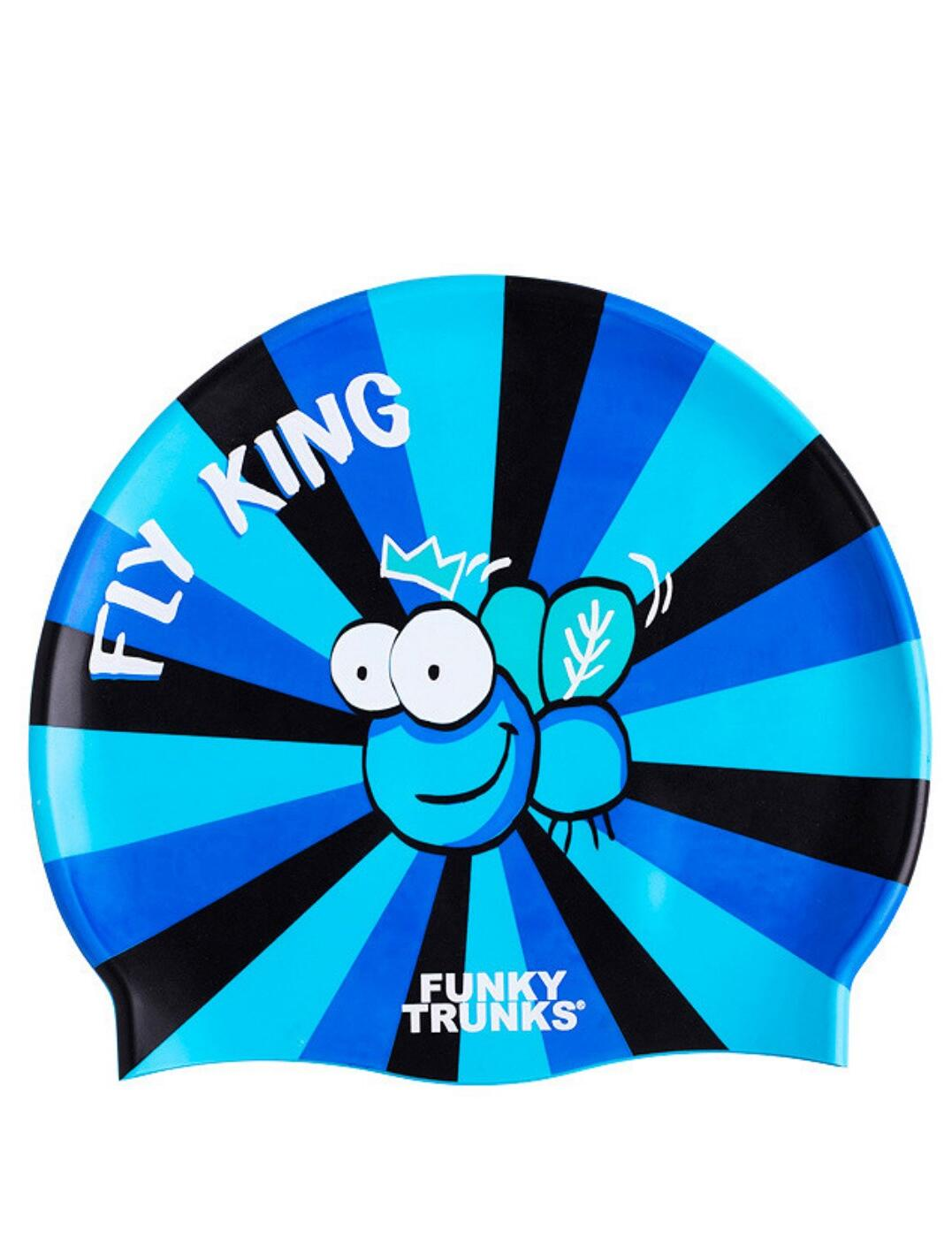FT9901172 Funky Trunks Silicone Swimming Cap - FT9901172 Fly King