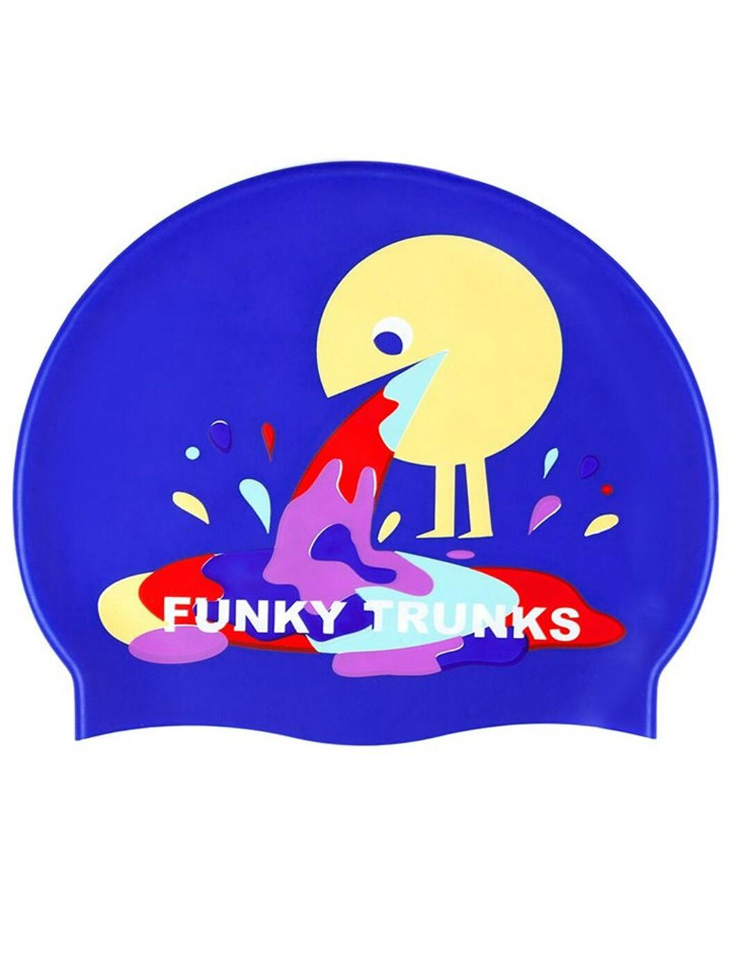 FT9900906 Funky Trunks Silicone Swimming Cap - FT9900906 Hurley