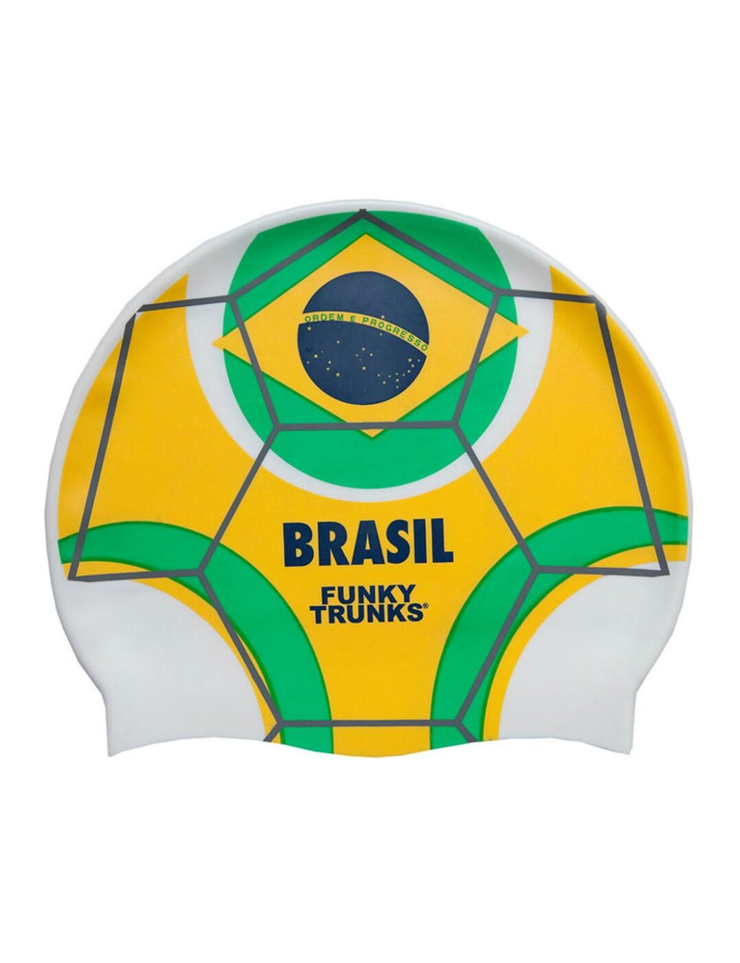 FT9900675 Funky Trunks Silicone Swimming Cap - FT9900675 Canarinho