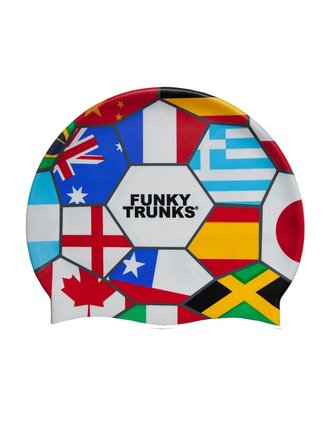 FT9900673 Funky Trunks Silicone Swimming Cap - FT9900673 Rio 14