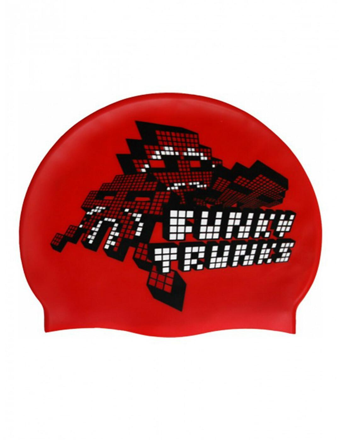 FT9900328 Funky Trunks Silicone Swimming Cap - FT9900679 La Furia