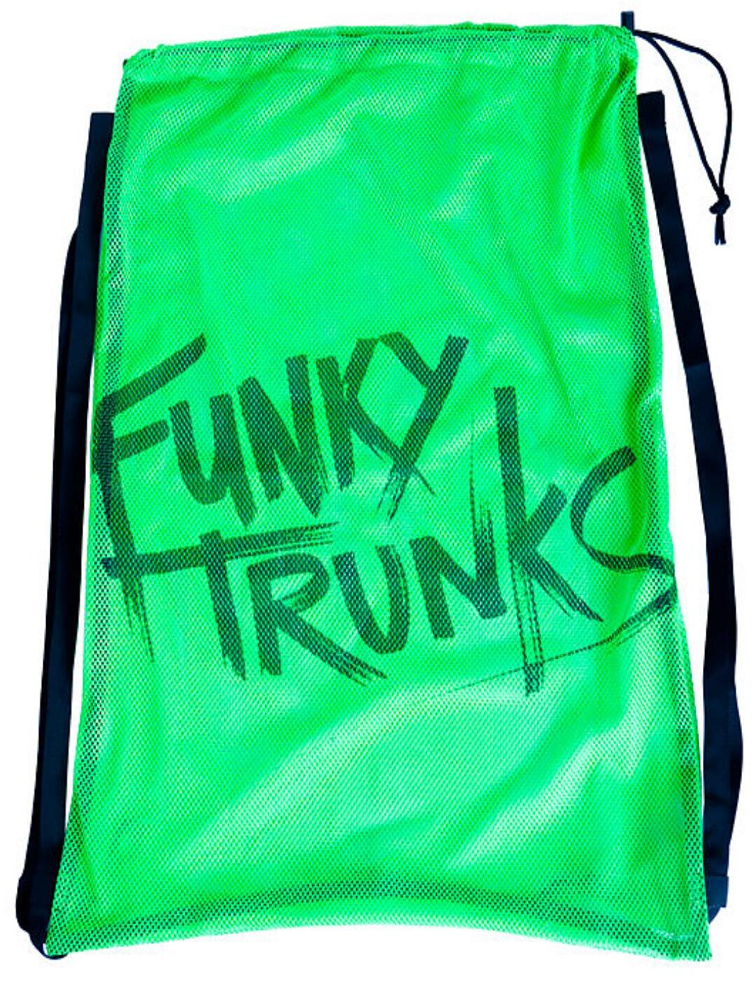 FTG010A00772 Funky Trunks Mesh Gear Bag - FTG010A00058 Still Brasil