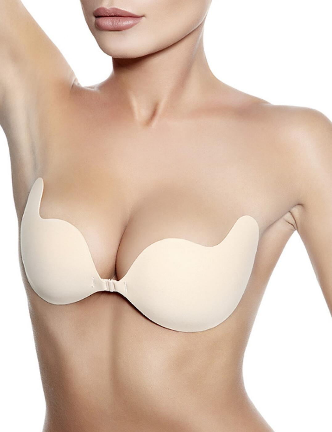 Freebra S-Style Stick On Accessory Bra - Beige