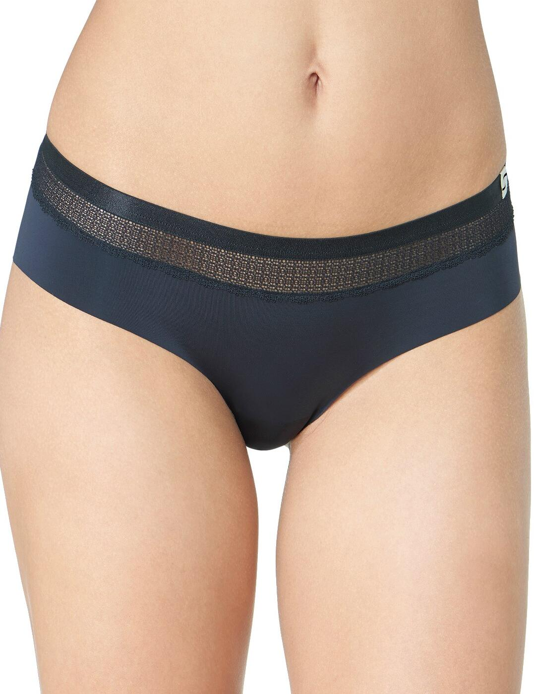 10186053 Sloggi S Silhouette Low Rise Cheeky Hipster Briefs - 10186053 Black
