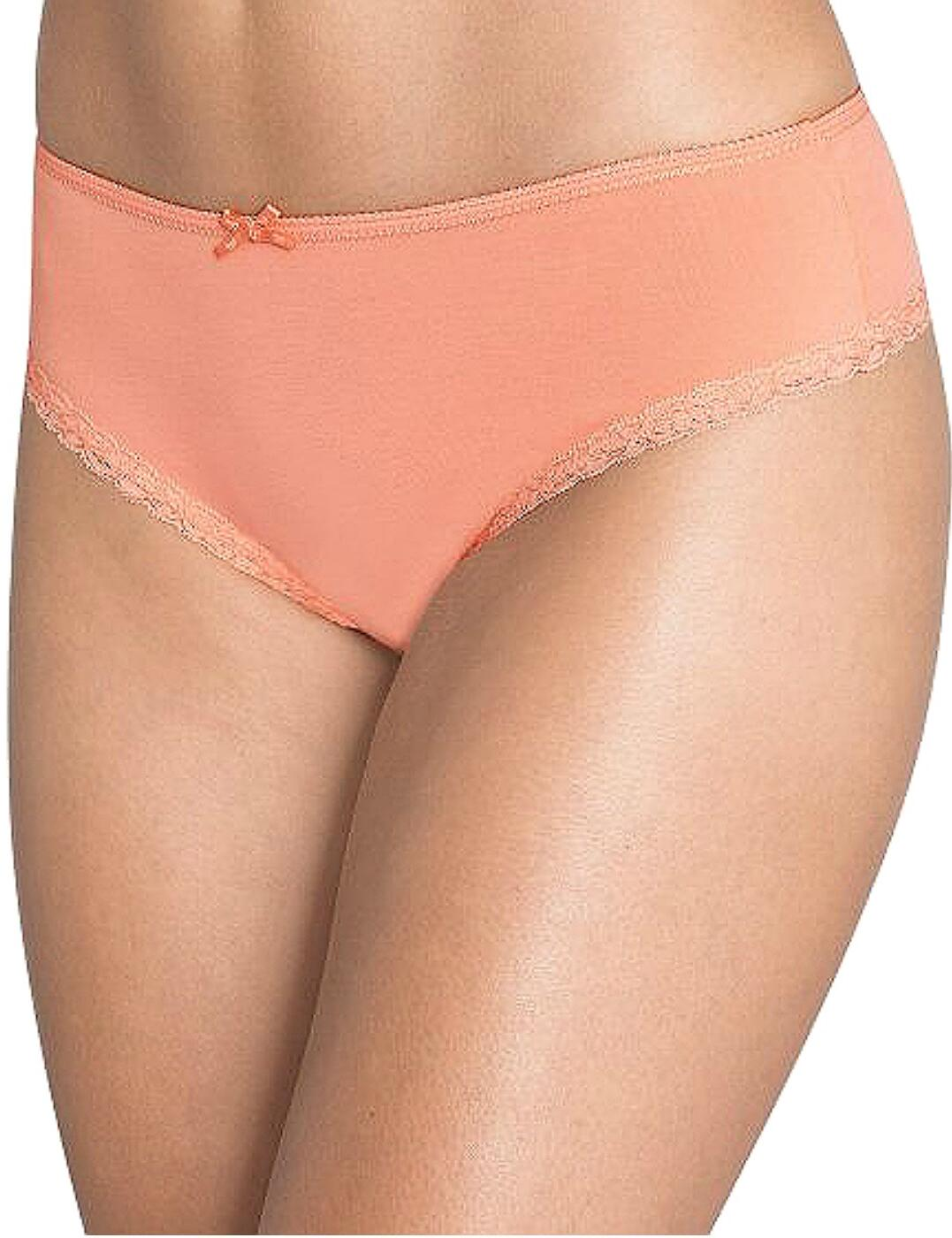 10144021 Sloggi Dolce N Hipster 2 Pack - 10144021 Orange/Light Combination