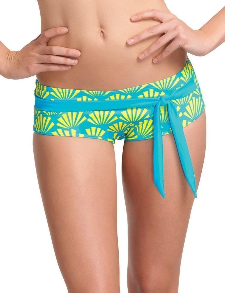 3511 Freya Fame Bikini Short Lime Fizz - 3511 Lime Fizz