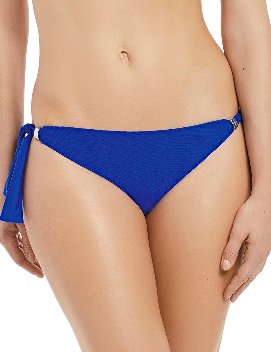 6357 Fantasie Ottawa Classic Scarf Tie Bikini Brief - 6357 Pacific