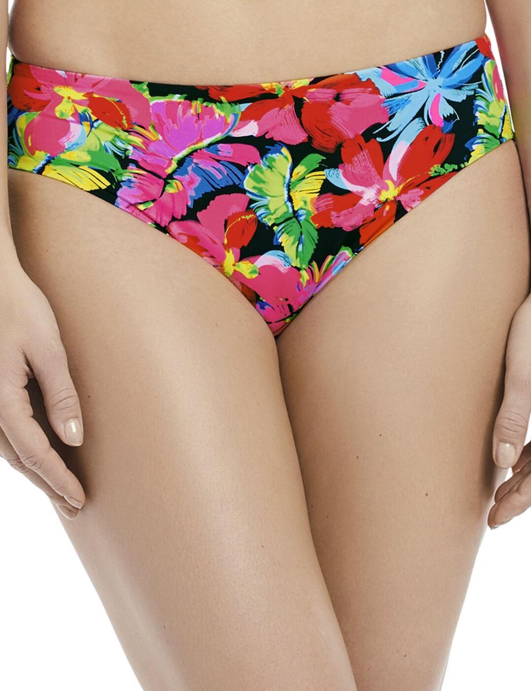 6470 Fantasie Santa Barbara Mid Rise Bikini Brief - 6470 Multi